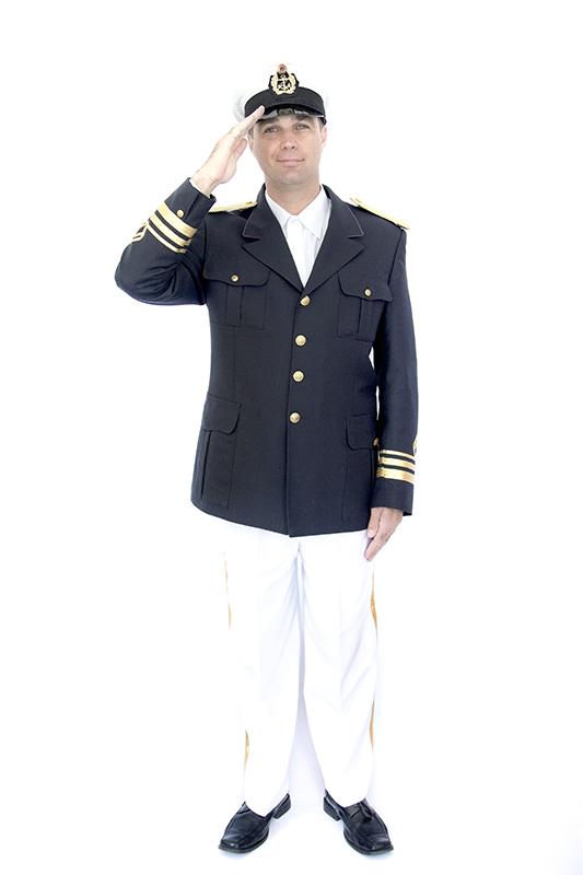 Hajós kapitány jelmez