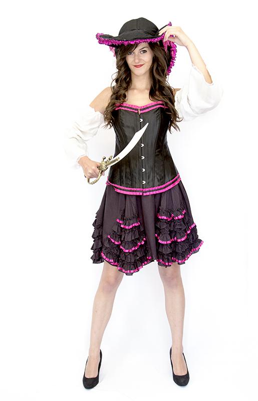 Pirate lady jelmez