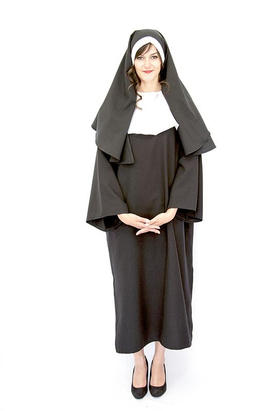 Klasszikus apáca jelmez
