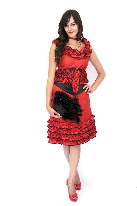Spanyol táncosnő jelmez