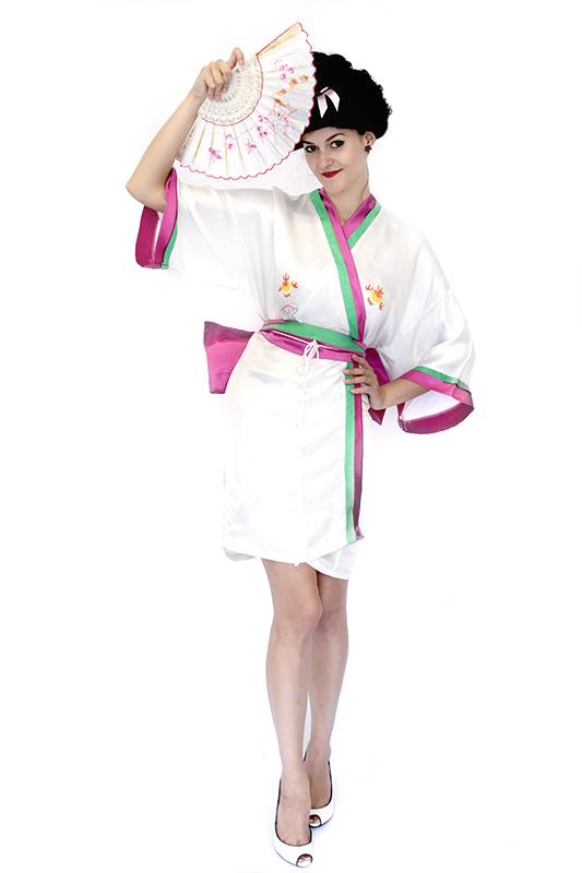 Japán Gésa (szexi) jelmez