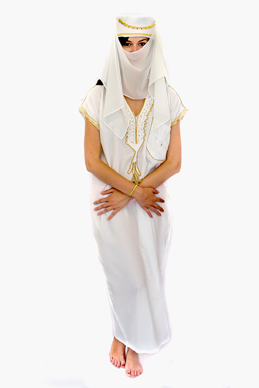 Arab női kaftán