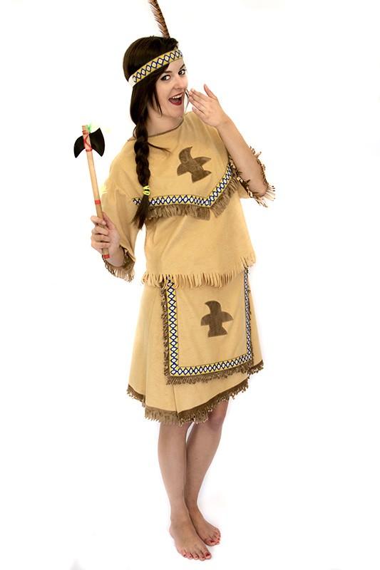 Indián női jelmez