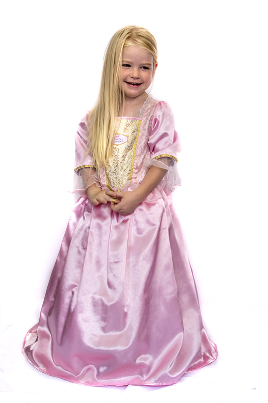 Barbie princess pink jelmez