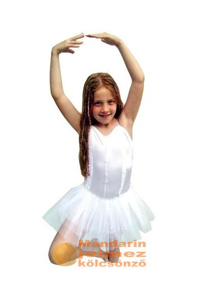 Fehér balerina jelmez