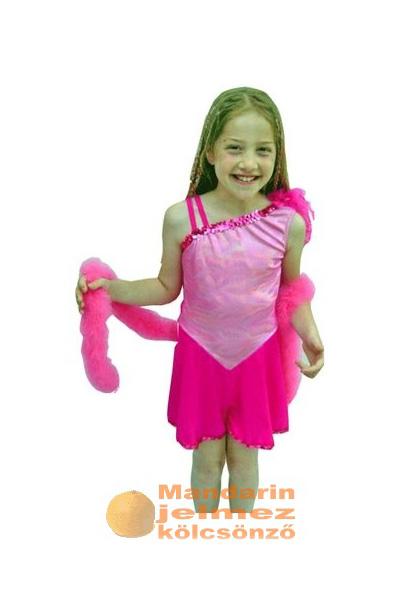 Pink táncosnő jelmez