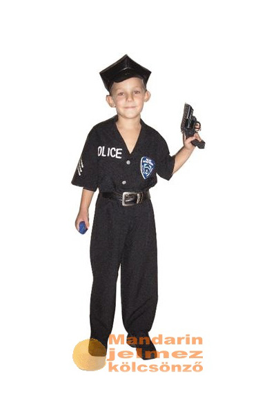 Amerikai rendőr jelmez