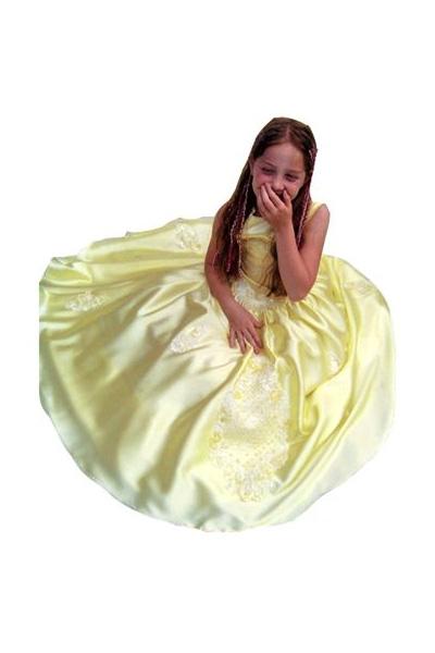 Sárga klasszikus királylány jelmez