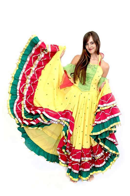Mandarin jelmezkölcsönző Brazil táncos