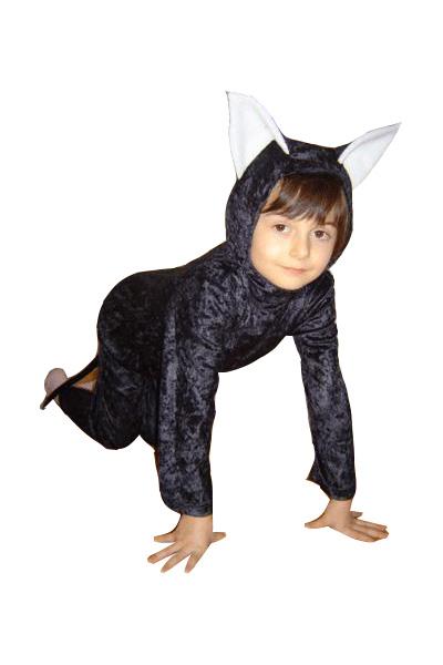 Cica jelmez (fekete)