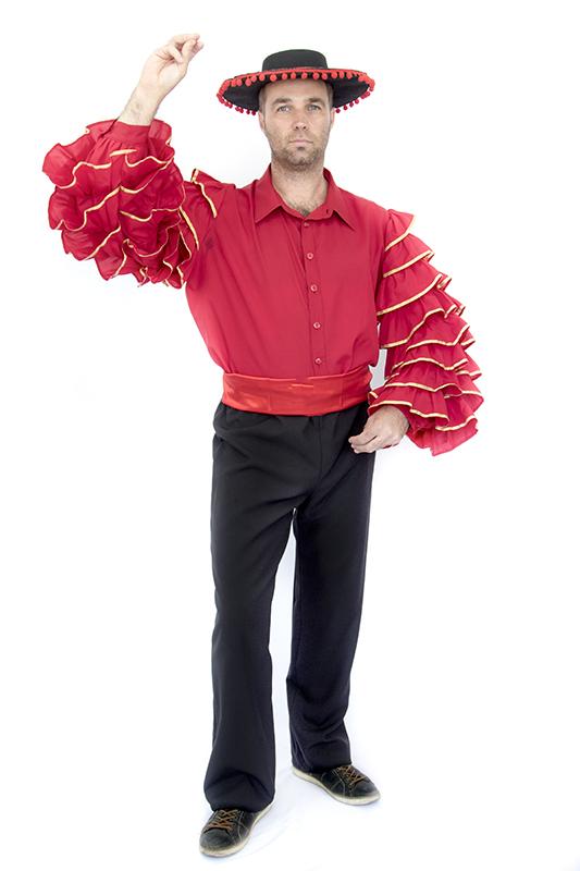 Spanyol táncos jelmez