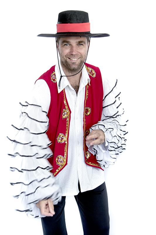 Latin táncos jelmez