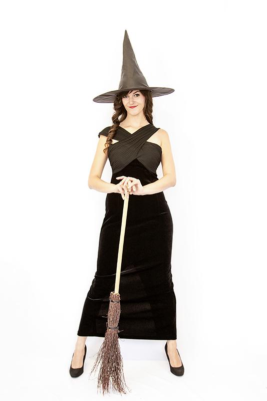 Csinos boszorkány jelmez