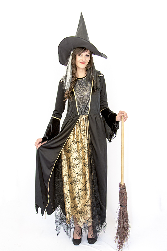 Gótikus boszorkány jelmez