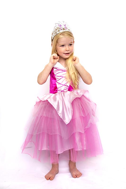 Pink királylány jelmez