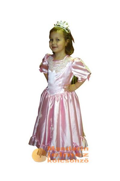 Rózsaszín klasszikus hercegnő jelmez