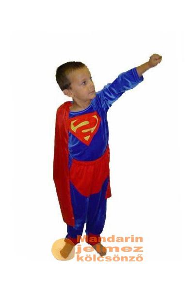 Superman jellegű jelmez