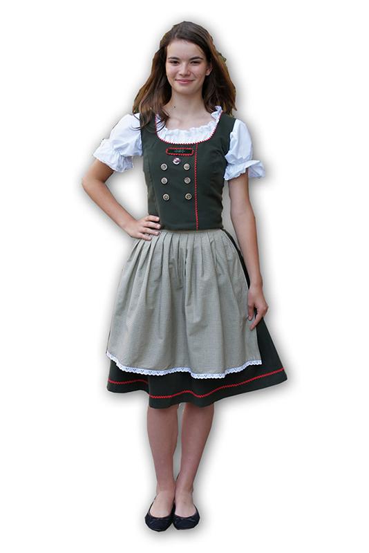 Tiroli női jelmez