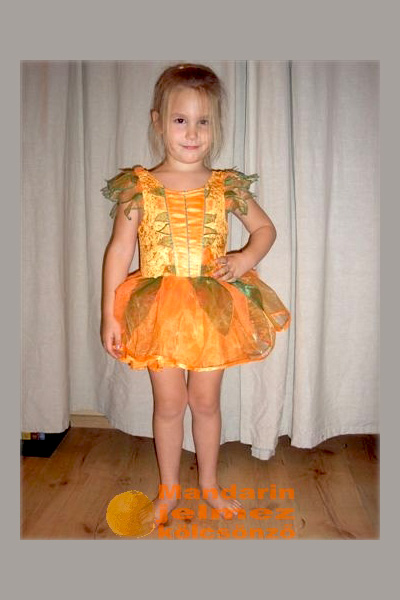 Mandarin balerina jelmez