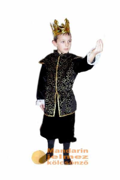 Mandarin jelmezkölcsönző Gyerekjelmez király