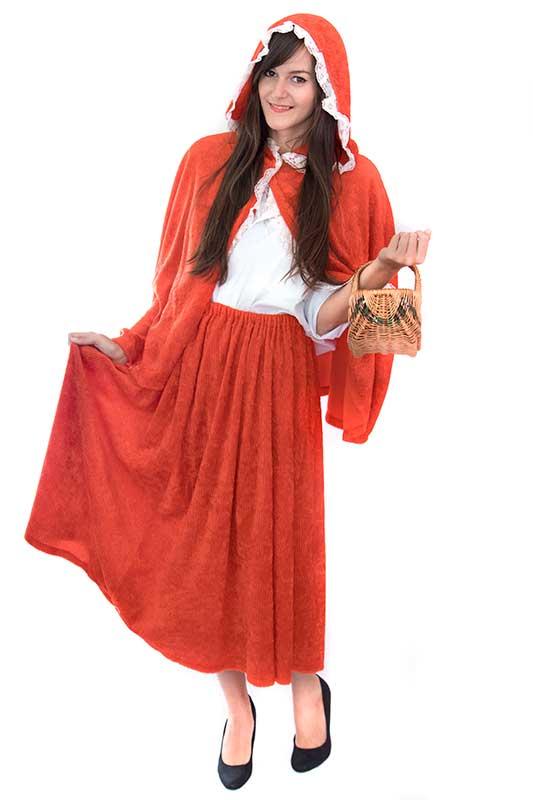 Mandarin jelmezkölcsönző Piroska jelmez