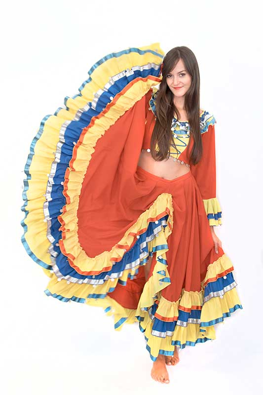 Spanyol táncos